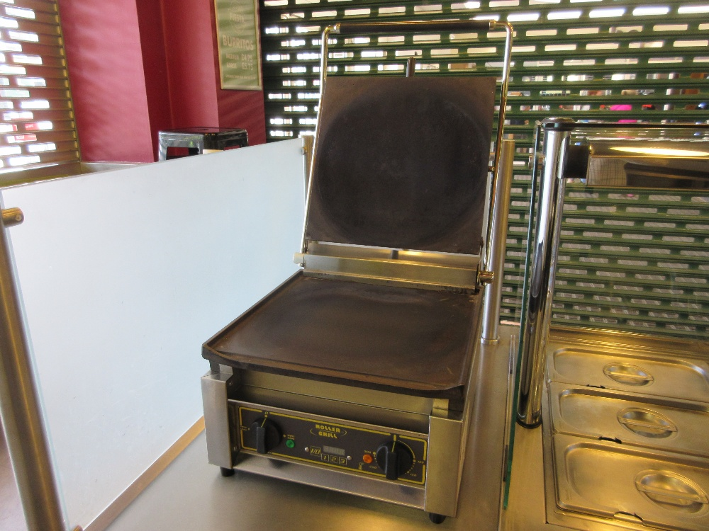 roller grill machine