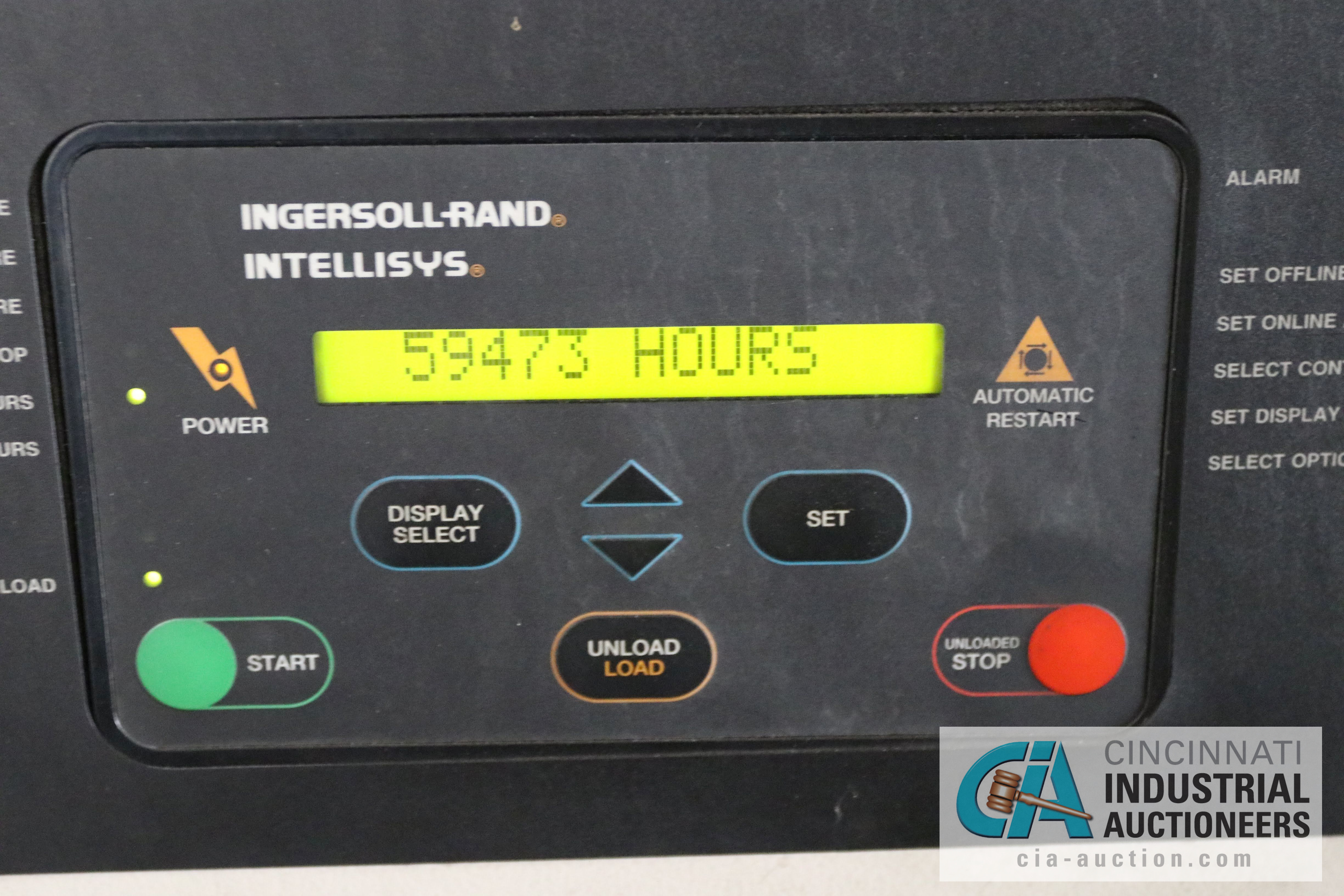 50 HP INGERSOLL RAND MODEL SSR-EP50 ROTARY SCREW AIR COMPRESSOR; 125 PSIG, 59,473 HOURS - $200.00 - Image 3 of 3