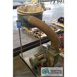 2 HP JET MODEL DC-1182 DUST COLLECTOR; STOCK #708630, 110 VOLT - $20.00 Rigging Fee Due to Onsite