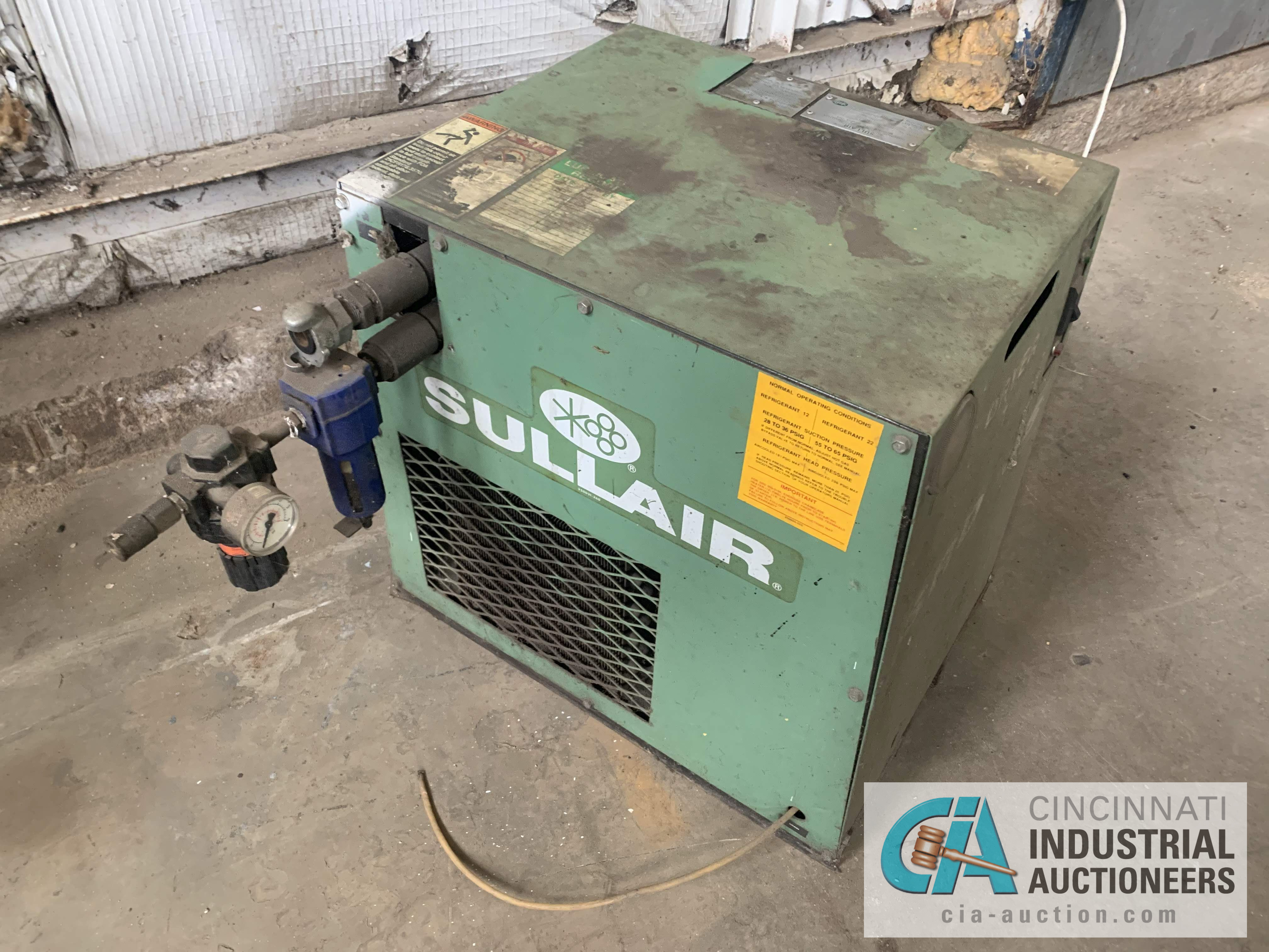 150 PSI SULLAIR MODEL SRD-35 A/C AIR DRYER - $20.00 Rigging Fee Due to Onsite Rigger - Located in