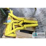 3,000 LB. BRADLEY CRANE COIL GRAB - $20.00 Rigging Fee Due to Onsite Rigger - Located in Bryan,
