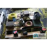PALLET OF ELECTRICAL PARTS - $10.00 Rigging Fee Due to Onsite Rigger - Located in Bryan, Ohio