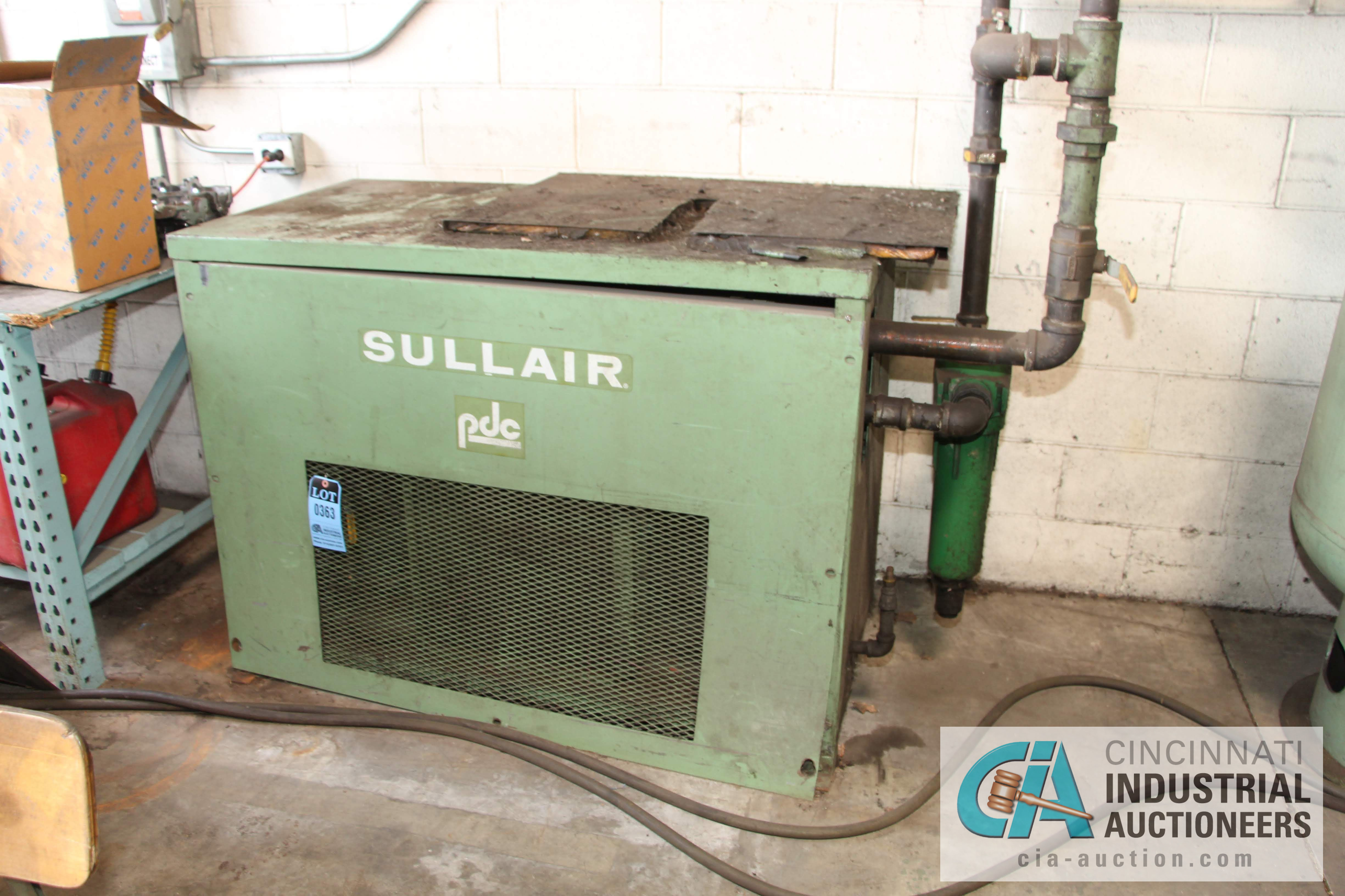 SULLAIR MODEL PDC-250 A/C AIR DRYER - $20.00 Rigging Fee Due to Onsite Rigger - Located in