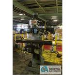 MSC RAM TYPE VERTICAL MILL; UPDATED VARIABLE SPEED CONTROL, DRO'S, POWER FEED, 1.8 KW - $200.00