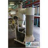 3 HP JET MODEL JCDC-3 DUST COLLECTOR; STOCK #717530, S/N 17010823 - $20.00 Rigging Fee Due to Onsite