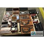 PALLET OF MEASUREMENT TOOLS (MICROMETERS & MORE) - Located in Bryan, Ohio