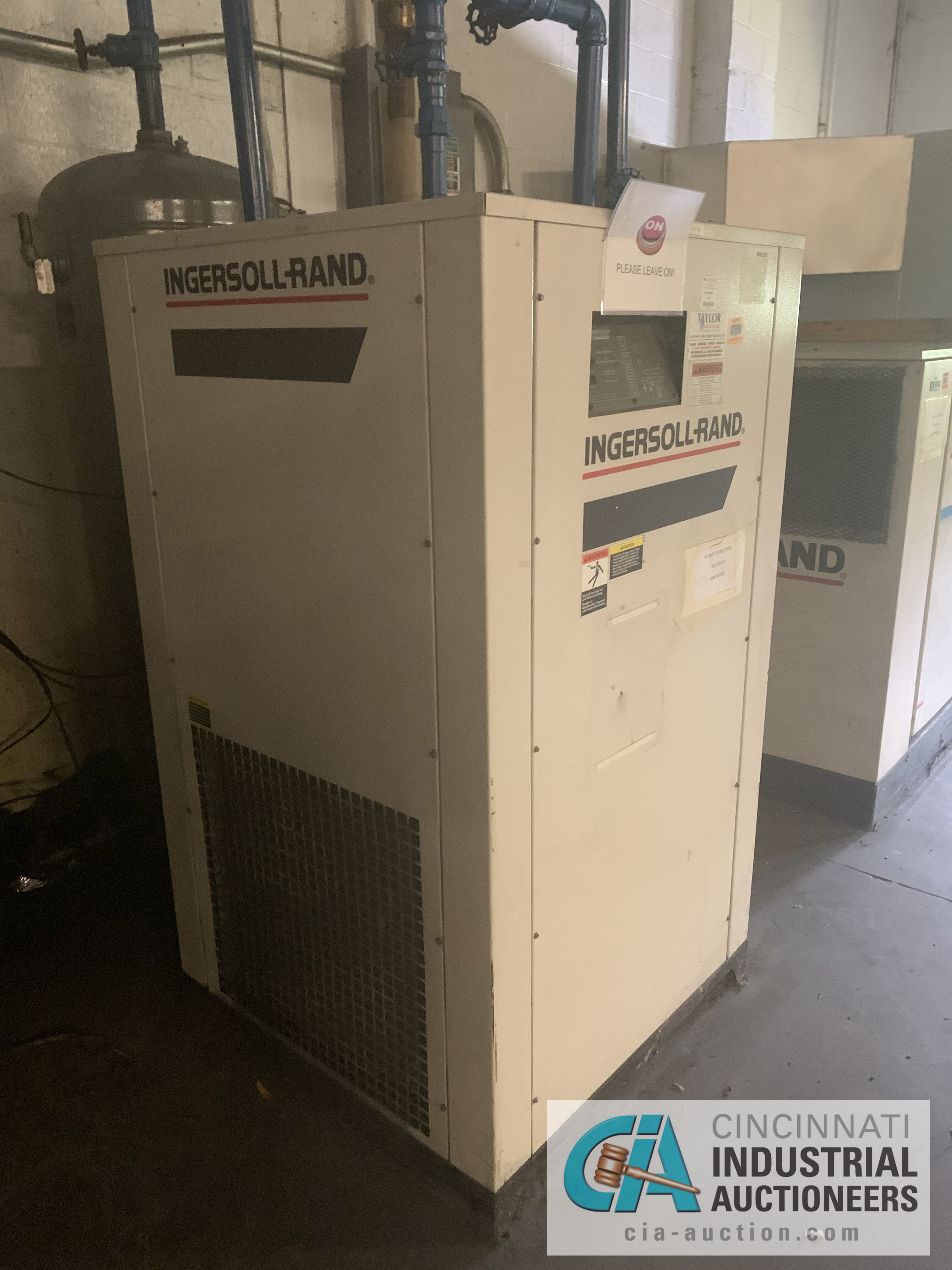 250 PSIG INGERSOLL RAND MODEL DXR425 AIR DRYER - $20.00 Rigging Fee Due to Onsite Rigger - Located