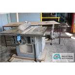 """12"""" - 14"""" DELTA ROCKWELL TILTING ARBOR HEAVY DUTY TABLE SAW - $50.00 Rigging Fee Due to Onsite"""