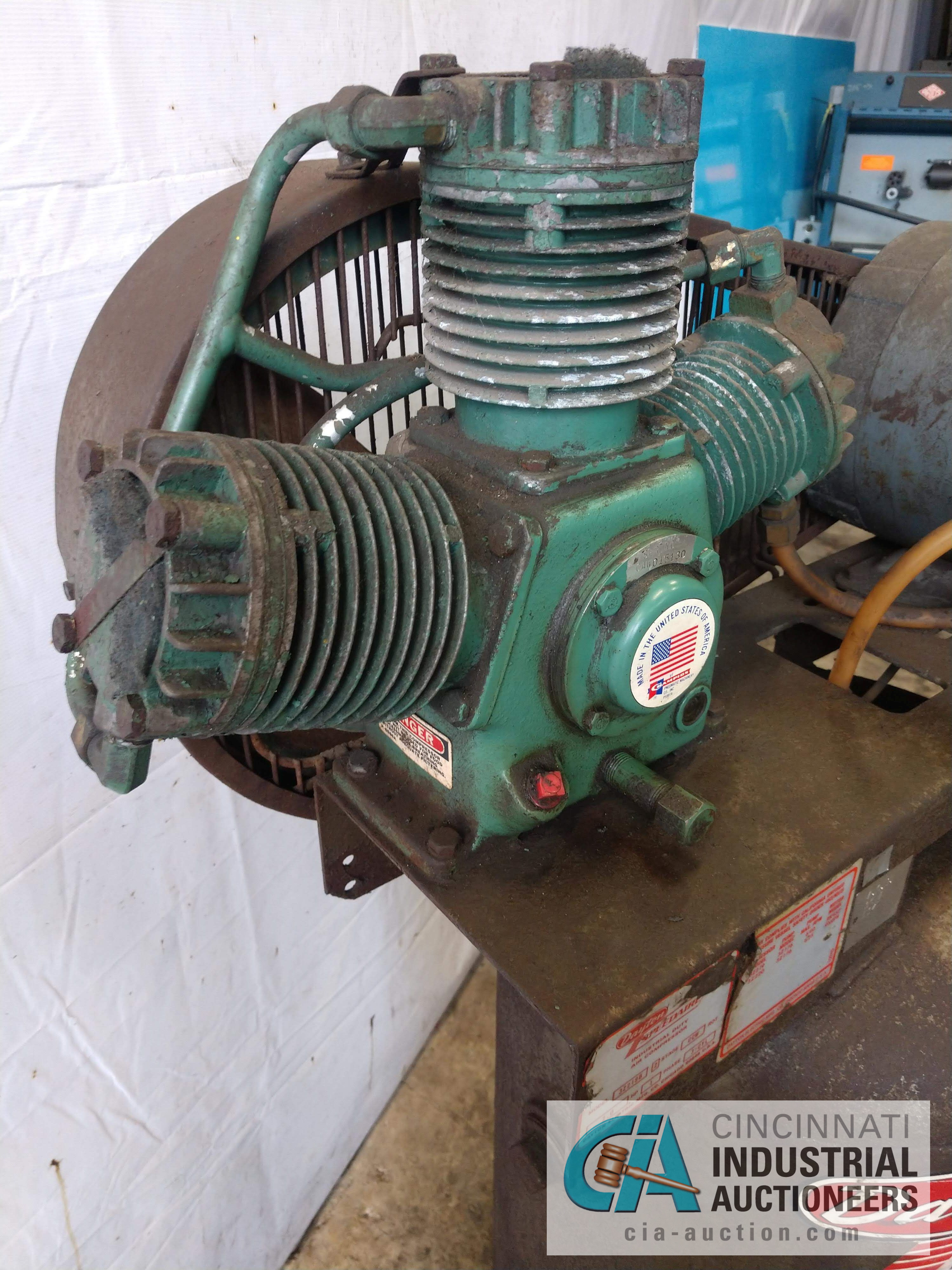 2 HP SPEEDAIRE MODEL 3Z219B AIR COMPRESSOR - $20.00 Rigging Fee Due to Onsite Rigger - Located in - Image 3 of 3