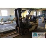 """5,550 LB. NISSAN MDOEL MCUL02A30LV LP FORKLIFT; 3-STAGE MAST (169"""") - $250.00 Rigging Fee Due to"""