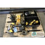 DEWALT RECHARGABLE CIRCULAR SAWS W/ CHARGERS - Located in Bryan, Ohio