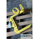 """4,000 LB. BRADLEY COIL LIFT C HOOK; 17"""" PICK TONGUE, 18"""" HEIGHT INSIDE C - $20.00 Rigging Fee Due to"""