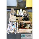 PALLET OF WELDING SUPPLIES - $10.00 Rigging Fee Due to Onsite Rigger - Located in Bryan, Ohio
