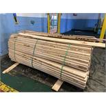 LOT OF WOOD - $20.00 Rigging Fee Due to Onsite Rigger - Located in Bryan, Ohio