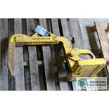 """6,000 LB. BRADLEY COIL LIFT C HOOK; 15"""" PICK TONGUE, 20"""" HEIGHT INSIDE C - $20.00 Rigging Fee Due to"""