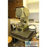 "9"" MITUTOYO MODEL PJ-250B OPTICAL COMPARATOR - $10.00 Rigging Fee Due to Onsite Rigger - Located"