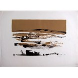 MICHAEL AYRTON [1921-75]. Greek Landscape. Lithograph, edition of 50 [12/50]. Signed. 60 x 82 cm [