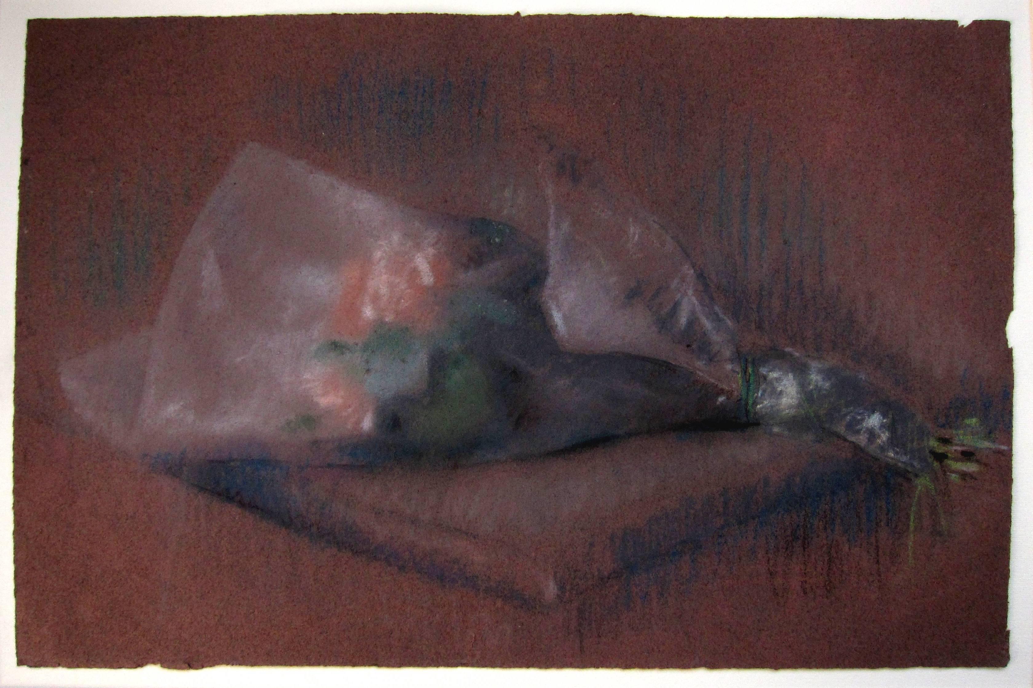 Lot 57 - JULIO GONZALEZ [1876-1942]. Bouquet, c. 1914-18. Pastel. 31 x 46 cm [overall including frame 43 x 58