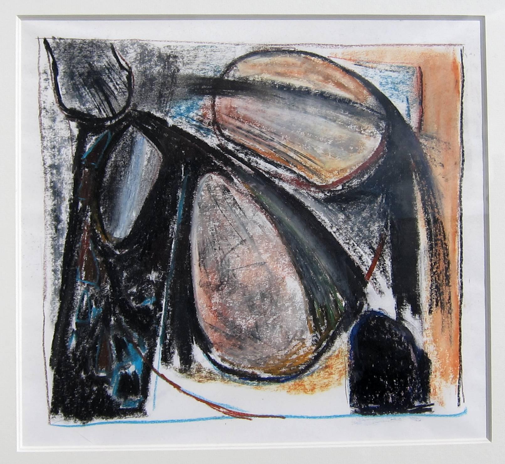 Lot 42 - PAUL FEILER, R.A. [1918-2013]. Untitled, 1964. Pastel. Provenance: The artist; Austin/Desmond Fine