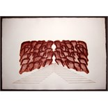 RICHARD SMITH, R.A. [1931-2016]. Butterfly 111, 1971. Etching and aquatint, edition of 40, proof.