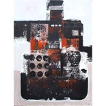RAY BARRY [b.1931]. Rusty Hull 111, 2007. Acrylic on canvas. Signed. 61 x 46 cm [unframed and