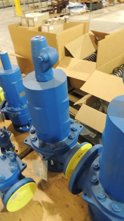 Lot 1 - Large Quantity of Leser Relief and Safety Valves, plus Spare Parts Kits