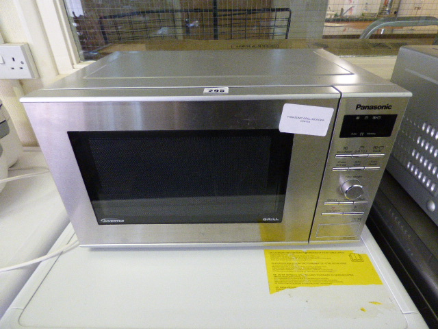 how to use grill in microwave panasonic