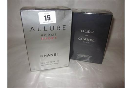 Chanel Allure Homme Sport Eau De Toilette 150ml And Chanel Bleu De