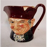 Lot 2 - A Royal Doulton musical Character Jug, Old Charley, the clockwork movement playing Here's a Health