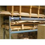 6' H SECTION OF PALLET RACKING W/ CONTENTS