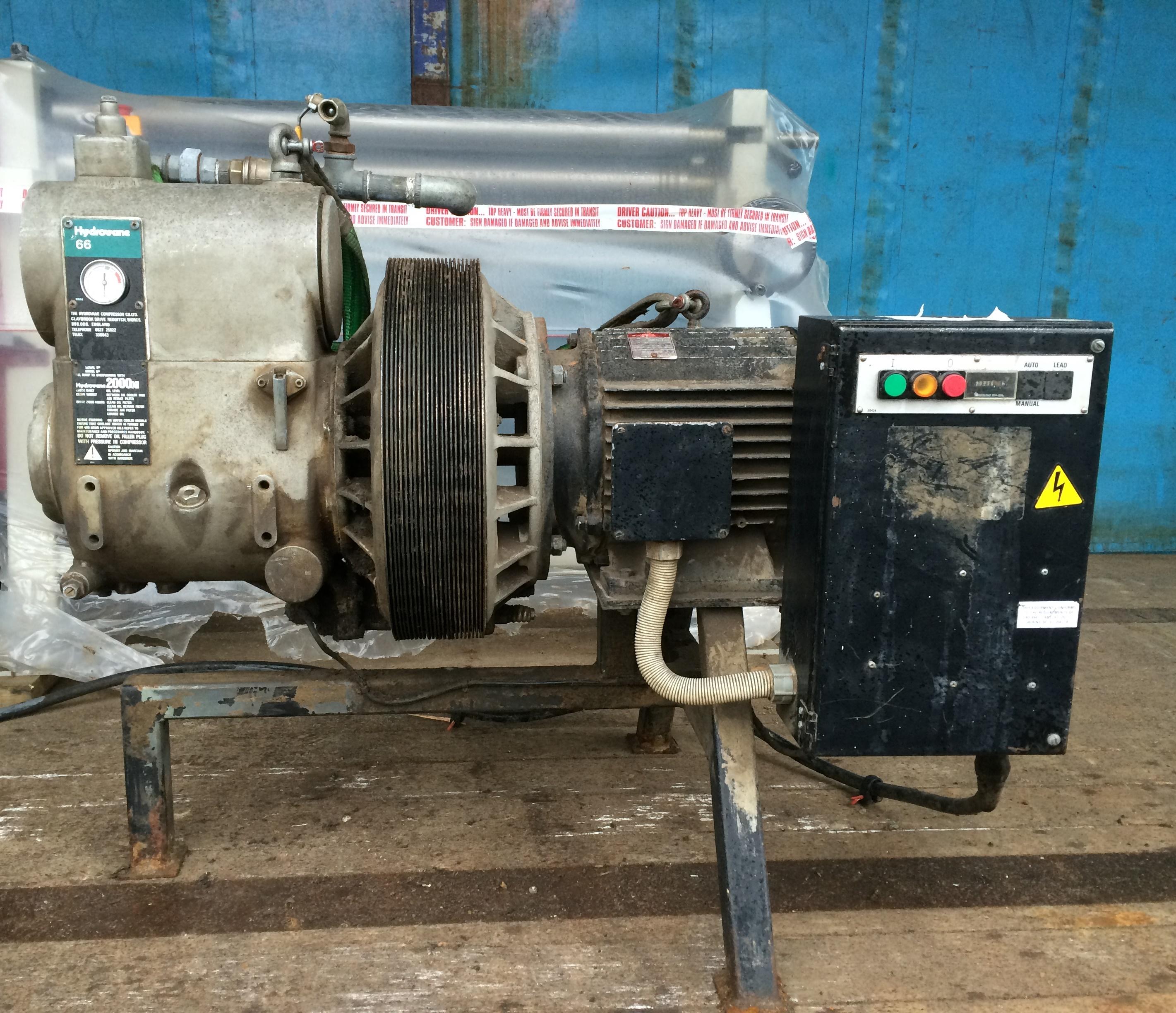Lot 25 - Hydrovane 66 Compressor - 415V