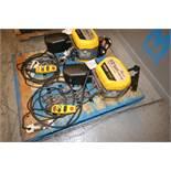 Quantum 1/2 Ton Electric Chain Hoist, M/N Q100-1RD50P14-11AA3C, S/N 0100-6934-01, 230 Volts, 3 Phase