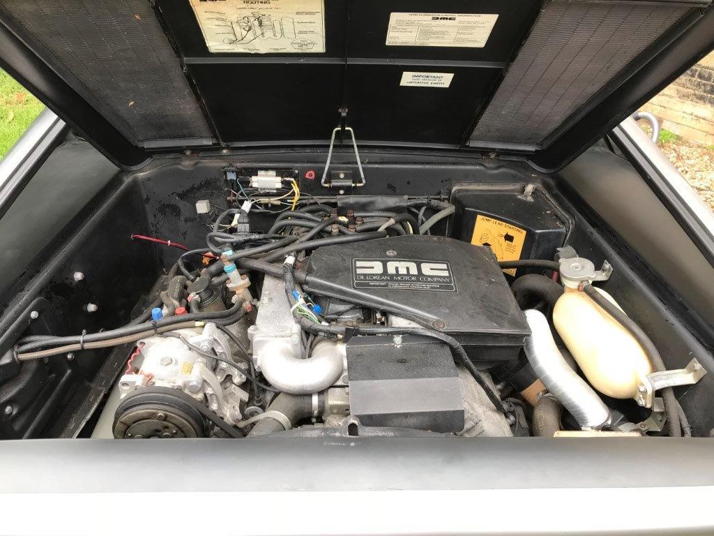 Lot 2345 - A 1981 DeLorean DMC 12 sports car, registration number KUC 935W, approx 25,850 miles, manual,