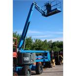 MINT Genie Boom Lift model Z-60/34 with 60' platform height with LOW hours