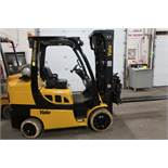FREE CUSTOMS - 2019 Yale 8000lbs Capacity Forklift with 3-stage mast - LPG (propane) with