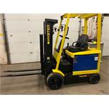 FREE CUSTOMS - Hyster 5000lbs Capacity Forklift with 3-stage mast - ELECTRIC with sideshift