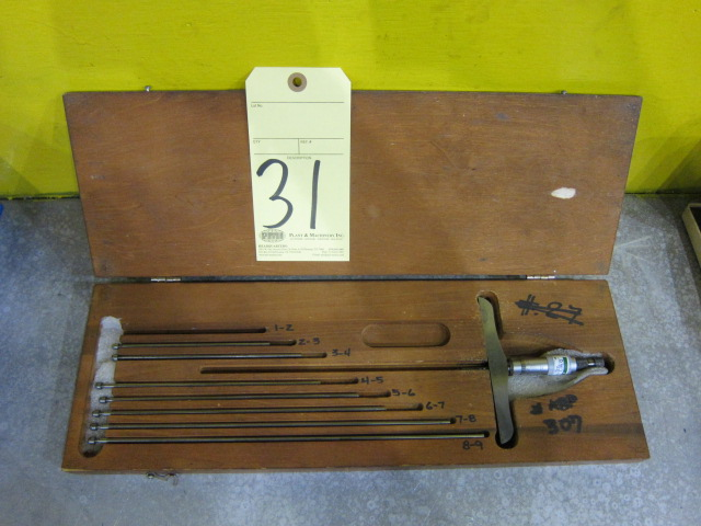 Lot 31 - DEPTH MICROMETER, STARRETT