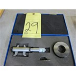 "Lot 29 - I.D. MICROMETER, 0.2"" to 1/2"""