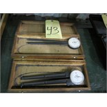 Lot 43 - LOT OF DIAL CALIPER GAUGES (2), SPI