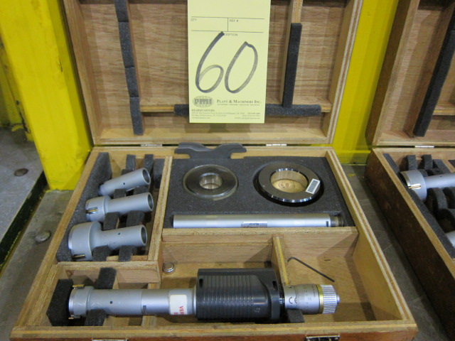 Lot 60 - ELECTRONIC HOLE MICROMETER SET
