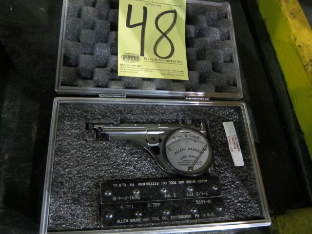 Lot 48 - LEAD GAUGE, ALLEN
