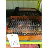 Lot 55 - LOT OF PIN GAUGES, .061 to .500