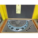 "Lot 24 - ANVIL MICROMETER, MITUTOYO, 6"" to 12"""