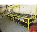 Lot 770 - LOT OF BENCHES (3), assorted (cannot be removed until contents have been taken)