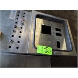 Empty S/S Control Cabinets - Dimensions 160cm x 58cm 24cm (LxWxH) and 120cm x 100cm x 28cm (LxWxH)