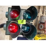 Siemens Red and Green Traffic Lights (NOTE: Sun Covers Available)