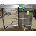 S/S Plate Heat Exchanger with 2-Sections (120) S/S Plates (NOTE: ID Plate Not Available)