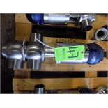 Bardiani 4-Way Clamp Type/Welded S/S Air Valve with Giotto Top and 80 cm Outlets (New)