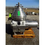 Reda 6,900 GPM S/S Cream Separator, Model RE 100/T, S/N C070/072, 18.5 KW (NOTE: Tools Not