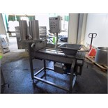 Twin Auger S/S Cheese Moulding Machine with Drive (NOTE: Control Panel is Empty)